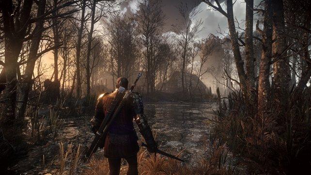 The Witcher 3: Wild Hunt hat schon ein paar Jahre auf dem Buckel, überzeugt allerdings immer noch mit realistisch wirkender Grafik.