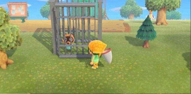 Ob es in Animal Crossing: New Horizons wohl wirklich möglich ist, seine Schulden durch Geiselnahme zu begleichen?