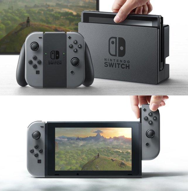 Egal ob stationär oder portabel: Die Vielseitigkeit der Switch ist eine ihrer größten Stärken.