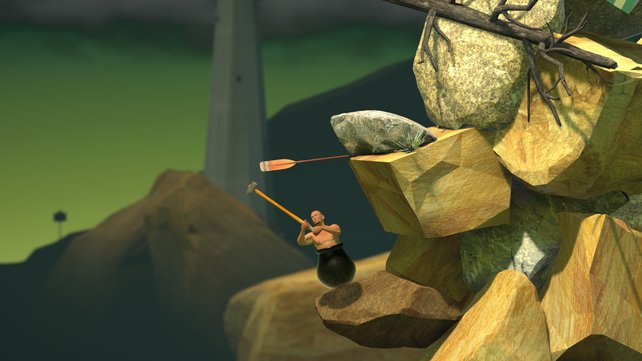 Es ginge auch einfacher: Getting Over It with Bennet Foddy