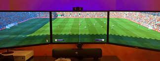 Fifa 17: Der Ball rollt auf drei Monitoren