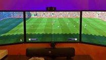 <span></span> Fifa 17: Der Ball rollt auf drei Monitoren