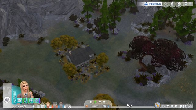 Einsam und allein steht das Einsiedlerhaus im tiefen Wald. Gemütlich machen könnt ihr es euch trotzdem in dem kleinen Häuschen.