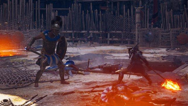Zwischen all den Leichen und brennenden Fallen kämpft ihr um Sieg oder Niederlage.