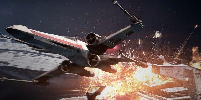 Jagt euer System nicht in die Luft. Checkt lieber vorher die Systemanforderungen für Star Wars: Battlefront 2.