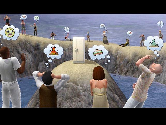 Sorry: Die Sims haben mir einfach zu viel Hunger.