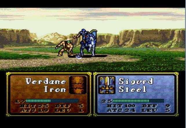 Sigurd lässt seinem Gegner keine Chance