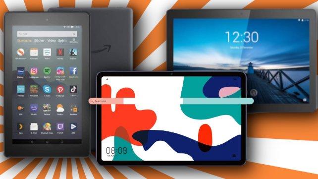 Top-Tablets gibt's am Black Friday zu Spitzenpreisen.