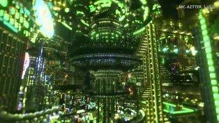 Ein Jahr Arbeit für eine riesige Cyberpunk-Stadt