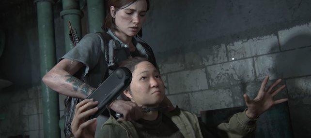 """Nichtsahnend spielt die allerletzte """"PS Vita""""-Nutzerin in The Last of Us 2 ihr letztes Spiel."""