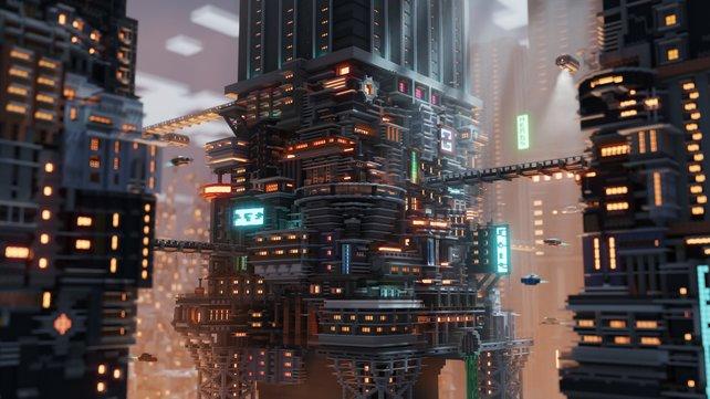 Der Reddit-Nutzer Deltagon hat dieses Kunstwerk geschaffen. Erst in Minecraft und dann mit Blender bearbeitet.