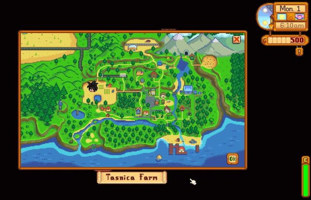Auf der Karte könnt ihr die Minen bereits sehen. Ihr schaltet sie allerdings erst mit der Zeit frei.