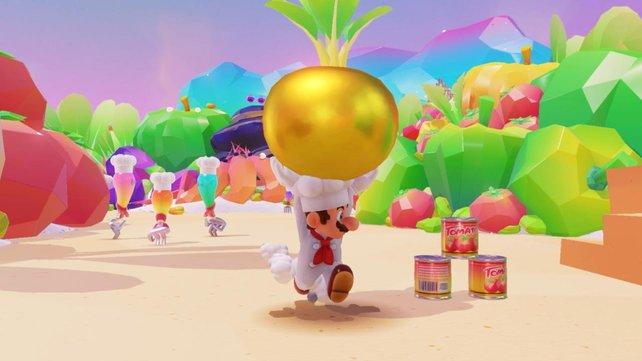 Ihr wollt Super Mario Odyssey streamen? Das wird nichts. Nintendo hat zurzeit kein Angebot für Spiele-Streaming.