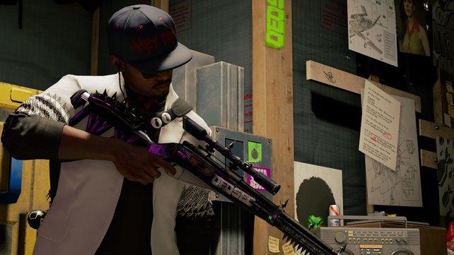 Ist das Gewehr nicht hübsch geworden?! (Modell: Spear-Phish-Sniper + Lackierung)