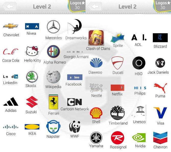 Logo quiz lsungen fr alle level und logos spieletipps bilderstrecke starten25 bilder gumiabroncs Choice Image