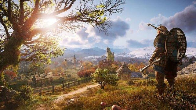 Assassin's Creed: Valhalla behandelt zum ersten Mal das Zeitalter der Wikinger innerhalb der Spielereihe.