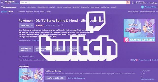 """Twitch integriert Prime Video mit dem neuen Feature """"Watch Parties"""" in das Unterhaltungsangebot."""