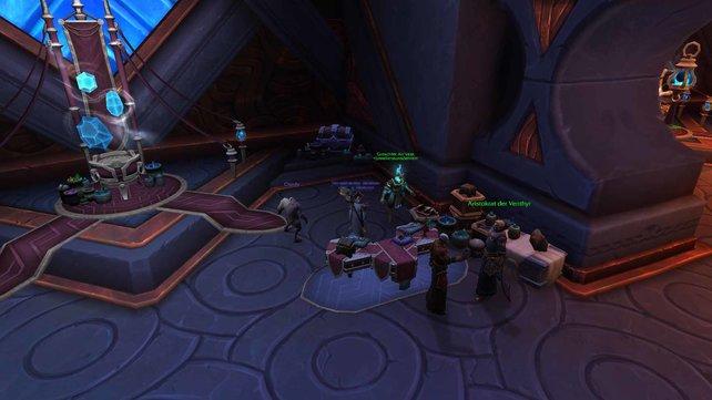 World of Warcraft: Shadowlands - Der Lehrer für Juwelierkunst in Oribos