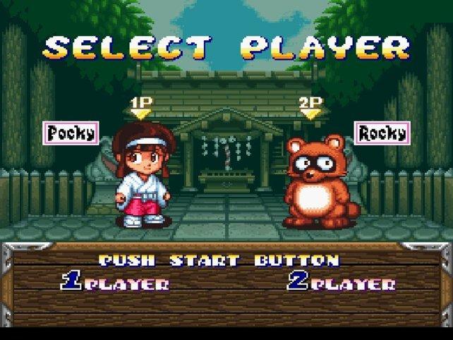 Pocky and Rocky: Bunt und niedlich, auch so wird die Vergangenheit Japans in Spielen interpretiert.