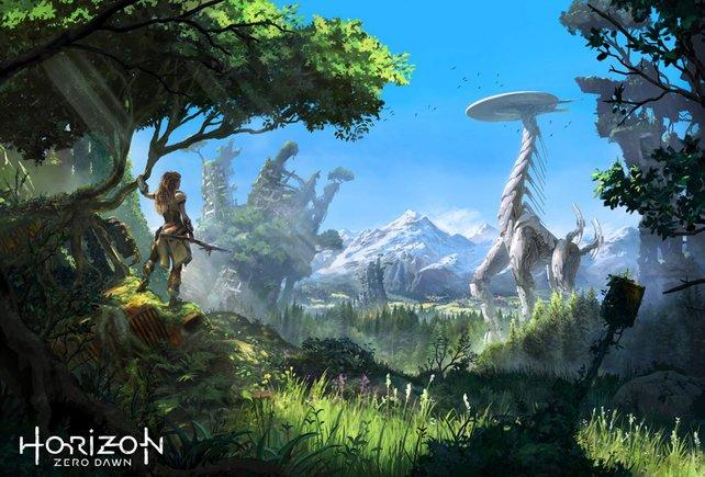 Horizon Zero Dawn: Schon der 1. Teil war wunderschön