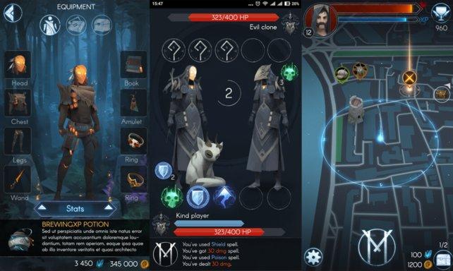 Die App Maguss geht bereits in die Richtung eines Harry Potter Go. Im Februar startete die Open Beta.
