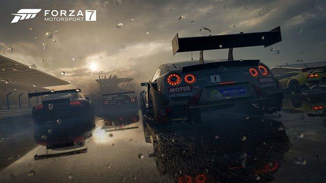 Forza Motorsport 7 ist zweifelsfrei eine Augenweide und soll auf Xbox One X sogar noch besser aussehen.
