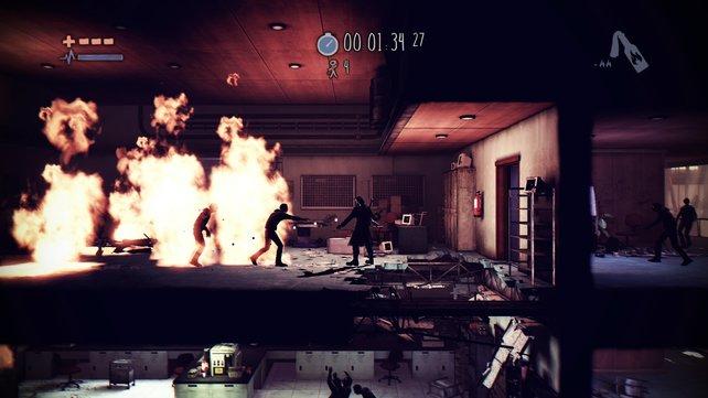 Zombies, wenig Munition und ihr mittendrin - der Kampf gegen die Uhr beginnt.