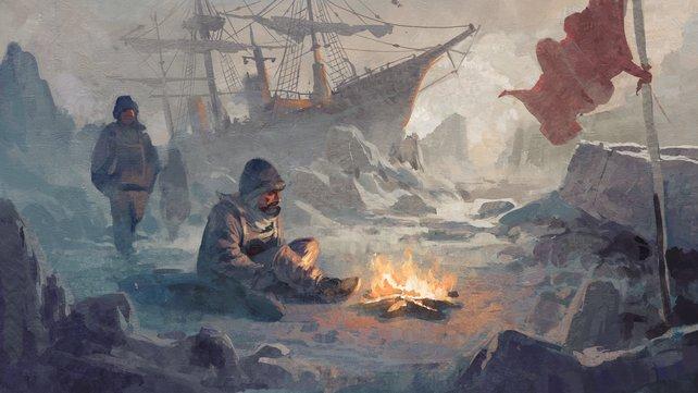 Anno 1800 entführt euch in die Arktis.