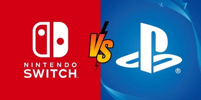 Im Duell zwischen PS4 und Switch zeichnet sich ein Sieger ab. Bildquelle: Getty Images/vectorplusb