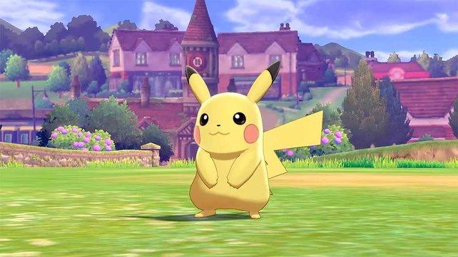 Pikachu wird natürlich vertreten sein in Pokémon Schwert und Schild