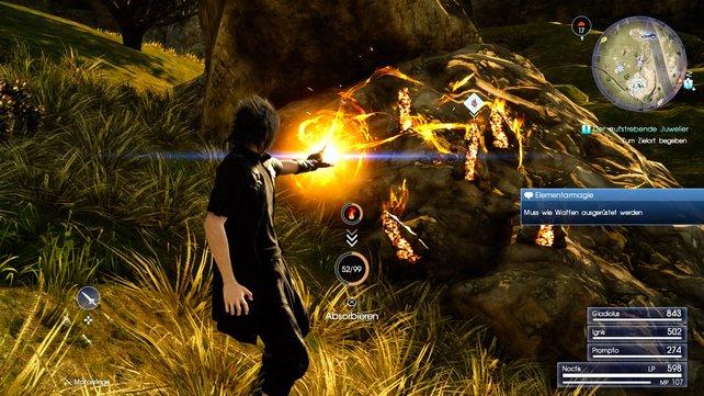 Final Fantasy 15 Magie Einsetzen Und Katalysatoren Verwenden