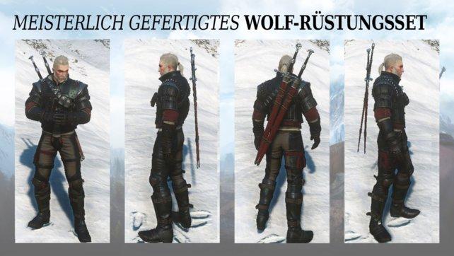 Meisterliche Wolfsschulenausrüstung