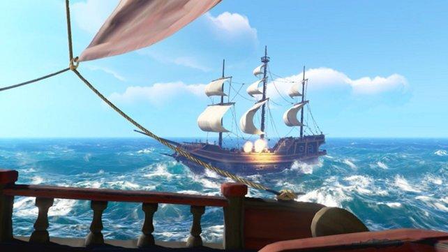 Kämpfe gegen andere Schiffe können sehr spannend, aber auch sehr nervenzehrend sein.