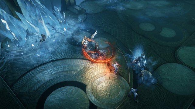 Der Kampf gestaltet sich schnell und abwechslungreich in Wolcen: Lords of Mayhem. Dank der vielen Möglichkeiten kommt ihr auch mit vielen oder gigantischen Feinden zurecht.