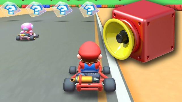 So sieht die Superhupe in Mario Kart Tour aus.