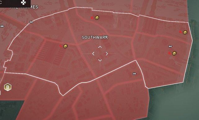 Gebiet: Southwark