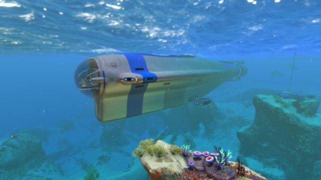 Der Zyklop ist ein komplexes U-Boot in Subnautica, in das ihr weitere Wasserfahrzeuge parken könnt.