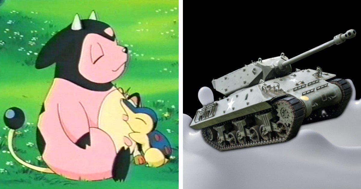 Milch-Panzer und Co. - Fan zeichnet Pokémon, wie sie wirklich aussehen müssten