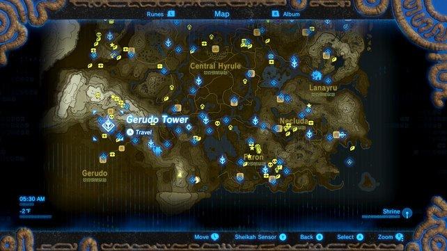 Schreine Zelda