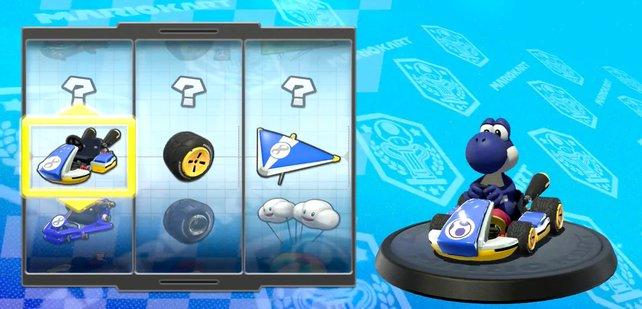 Yoshi gibt es in neun verschiedenen Farben.