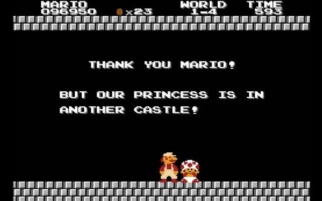 Dieser berühmteste Satz des Spiels ist zu Internetzeiten natürlich längst zu einem viel reproduzierten Meme geworden.