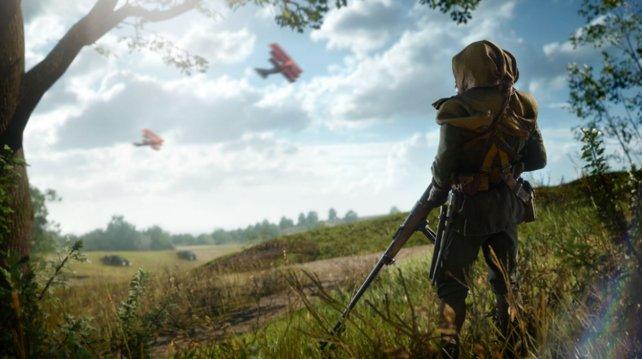 In Battlefield 1 könnt ihr 5 Kriegsgeschichten, mit 5 Helden druchleben!
