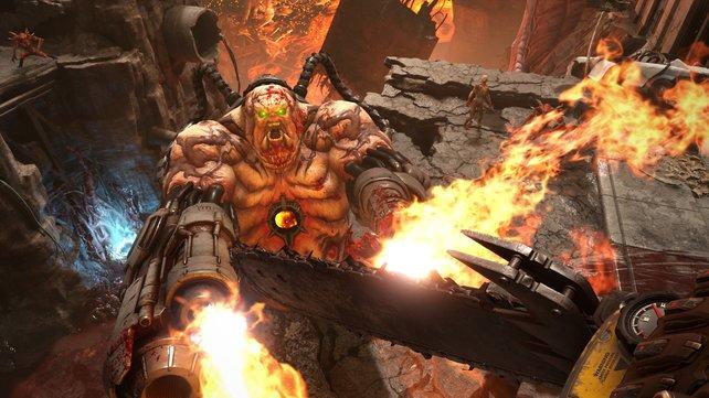 Wird langsam heiß hier drin. Der Anspruch an euer Können wächst in Doom: Eternal.