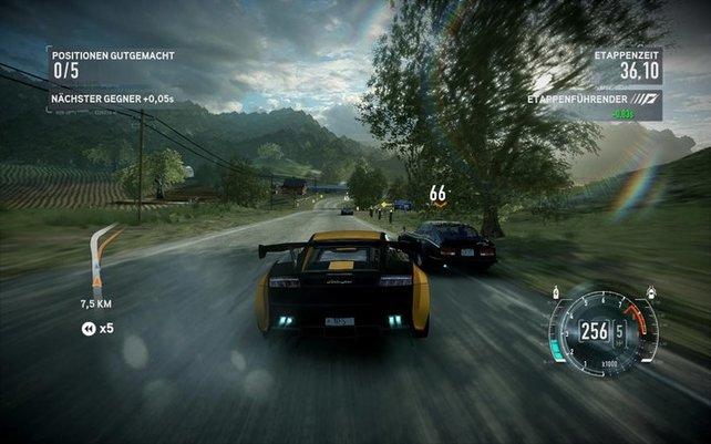 The Run besaß die typische DNS von Need for Speed, war aber viel zu linear und zu simpel gestrickt.