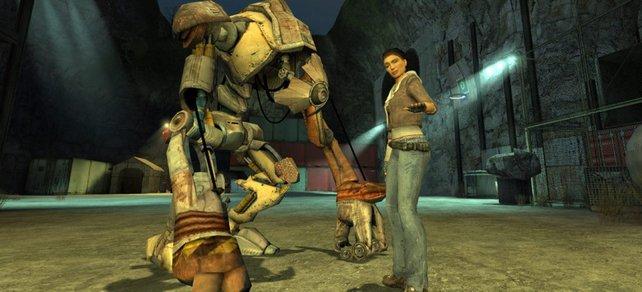 Half-Life 2 war damals eine technische Meisterleistung mit einer überragenden Grafik- und Physik-Engine.