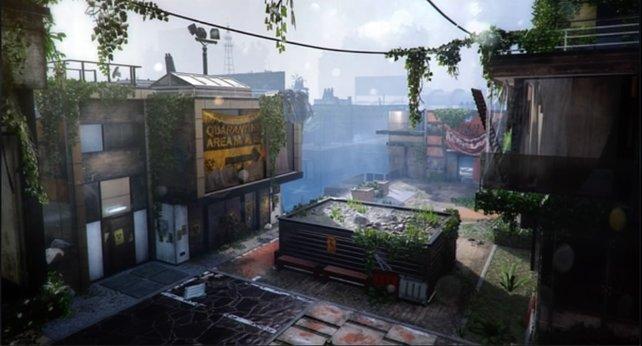 Dächer, viele verwinkelte Kleinräume und dynamisches Gefecht - das ist Evac.