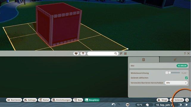 Mit dem Auswahlwerzeug könnt ihr die Objekte markieren, die ihr zusammenfassen wollt.