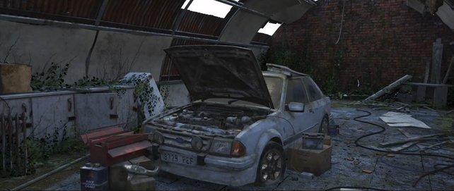 Ein waschechter Klassiker im Rennsport: Der erste Scheunenfund in FH4 ist ein Ford Escort RS Turbo.