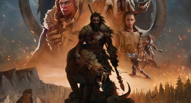 Far Cry - Primal handelt von den Abenteuern des Stammeskriegers Takkar.