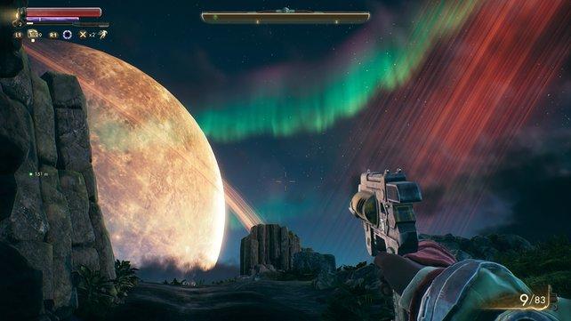 The Outer Worlds überzeugt durch ein wirklich imposantes Leveldesign.